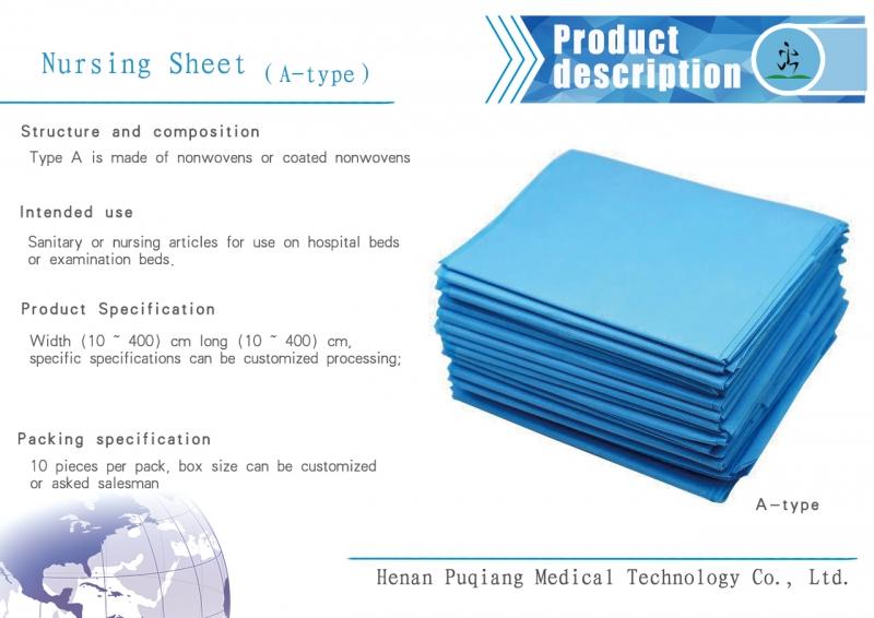 Medical nursing sheet